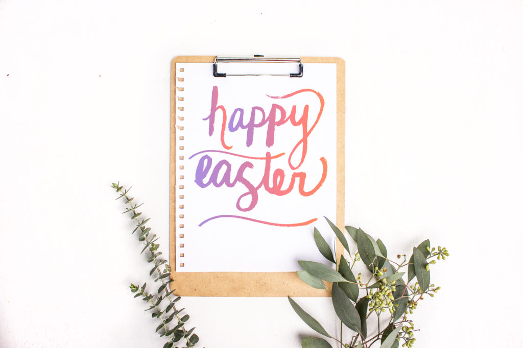 photograph relating to Happy Easter Printable referred to as Joyful Easter Printable + 25% off! - Caroline Makes